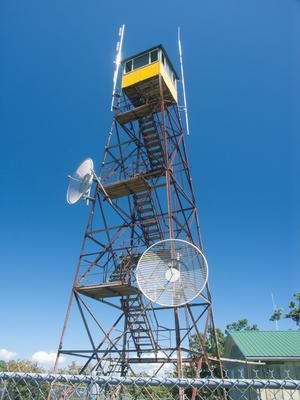 Fire Tower on Bearwallow Mountain