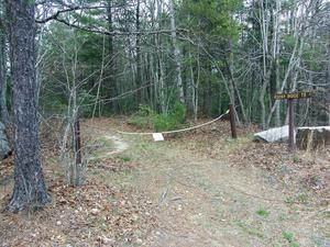 Start of the Rocky Ridge Trail