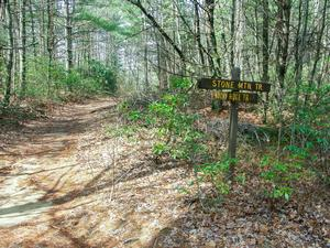 Stone Mountain/Rocky Ridge Trail Junction