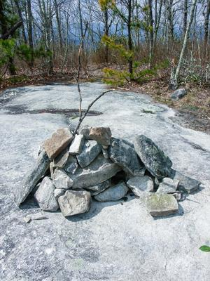 Cairn on Stone Mountain