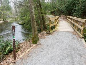 Estatoe Trail Wooden Bridge