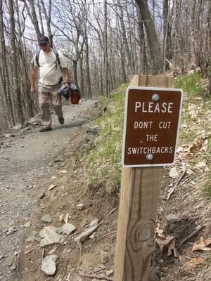 Don't Shortcut the Switchbacks
