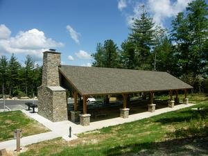 Picnic Shelter at Gorges State Park