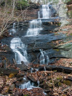 Waterfall Beside Bennett Gap Trail #1