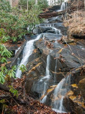 Waterfall Beside Bennett Gap Trail #2