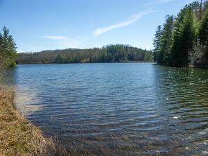 Lake Julia Near the Spillway