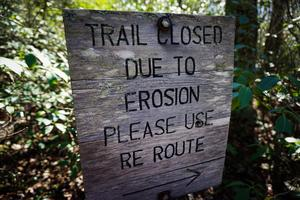 Mullinax Trail Re-Route