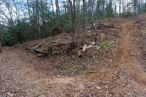 Lower Trace Ridge Reroute Curve