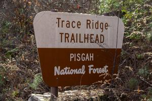 Trace Ridge Trailhead Sign