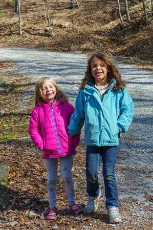 Kids on Bearwallow Mountain