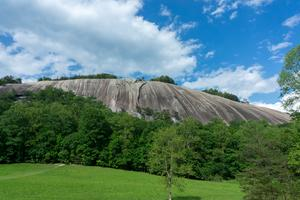 Stone Mountain from the Hutchinson Homestead