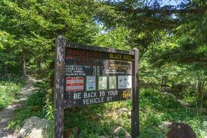 Grandfather Extension and Black Rock Trail Signs