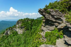 Cliffs on Grandfather Mountain
