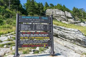 Grandfather Trail Sign