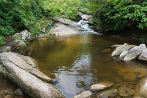 Pool above Upper Creek Falls