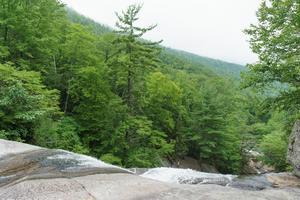 Brink of Upper Creek Falls