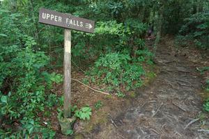 The Upper Falls Sign