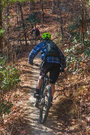Riders on Hickory Mountain Loop