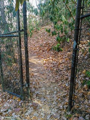 Shut-In Trail Gate