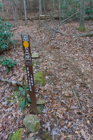 Explorer Loop Trail Sign