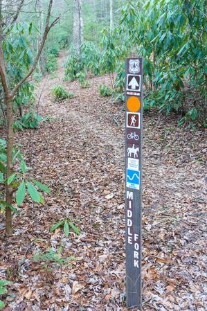 Middle Fork Trail Junction