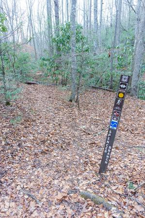 Spencer Branch Trail Sign