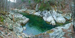 Blue Green Swimming Hole