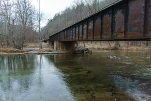Big Laurel Creek Railroad Bridge