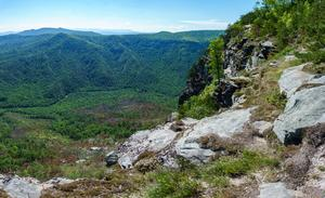First View of Linville Gorge