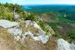Mouth of Linville Gorge and Lake James