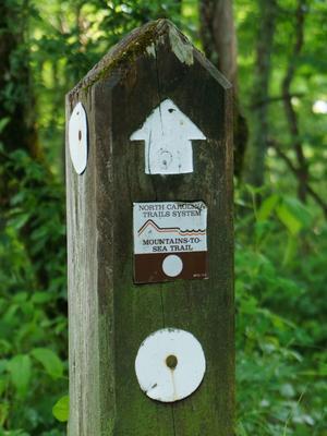 Mountains to Sea Trail Post
