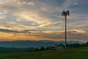 New Cell Tower on Bearwallow Mountain