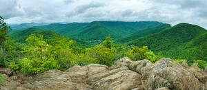 View of Montreat from the Lookout Trail