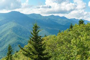 View of the Black Mountains range from the Green Knob Fire Tower