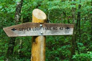 Upper Loop Trail Sign