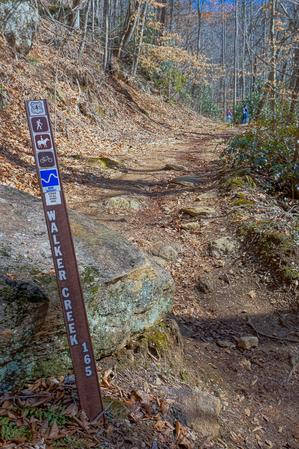 Walker Creek Trail Sign