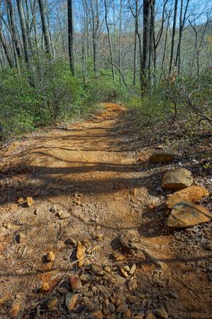 Red Clay Section of Daniel Ridge Loop Trail