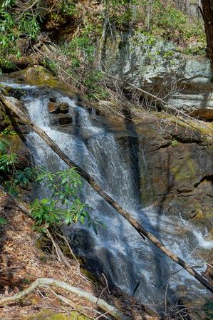 Waterfall on Tributary of Daniel Ridge Creek