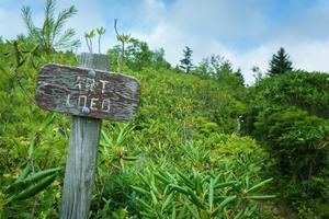 Art Loeb Trail Sign