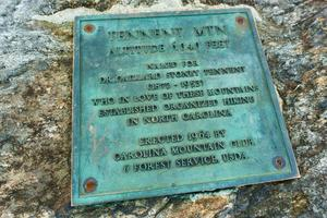 Tennent Mountain Monument