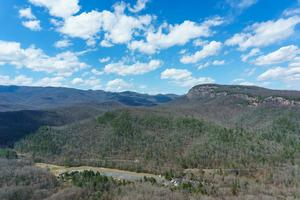 View of Looking Glass Rock