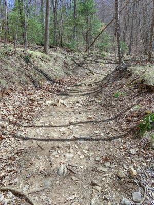 Club Gap Trail Old Rocky Road