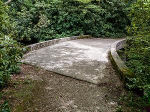 Concrete Bridge on the Flat Laurel Creek Trail