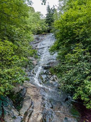 Wildcat Falls on the Flat Laurel Creek Trail