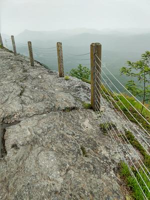 Cable Railing on the Whiteside Mountain Trail