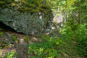 Outcrop on the Little Andy Trail