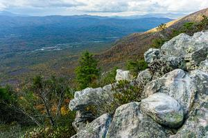 Northwest View from Bald Knob