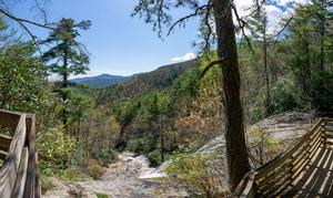 View from the Top of Glen Falls