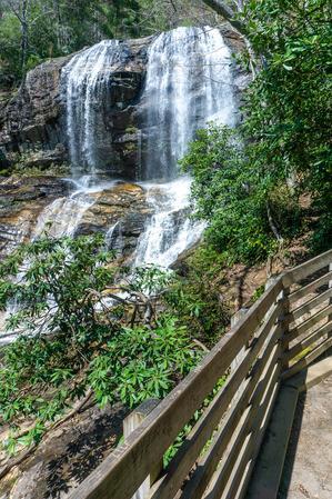 Observation Area at Glen Falls